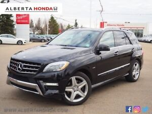 2012 Mercedes-Benz M-Class ML 350 BlueTEC. Fully Loaded. Panoram