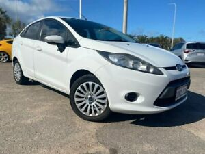 2010 Ford Fiesta WT LX PwrShift White 6 Speed Automatic Sedan Beresford Geraldton City Preview
