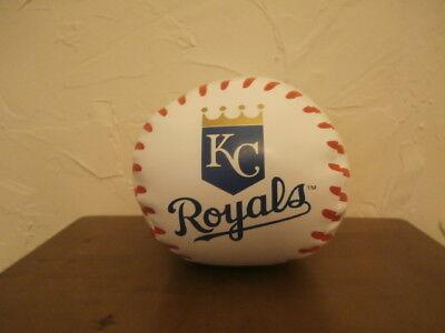 """Kansas City Royals Large 8"""" Polyester Fiber Plush/Stuffed Baseball PA-17346"""