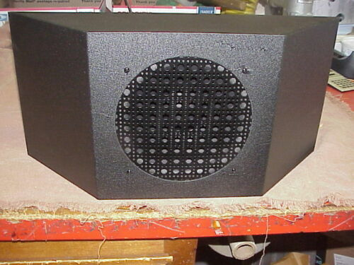 "RME 69 Radio Speaker, 8"" speaker."