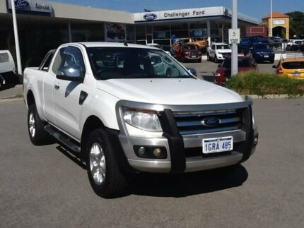 2014 Ford Ranger PX XLT Super Cab White 6 Speed Sports Automatic Utility Rockingham Rockingham Area Preview