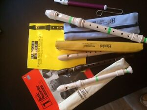Recorders/Slide whistle