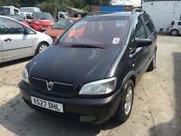 Vauxhall Zafira,7 seater starts and drives,