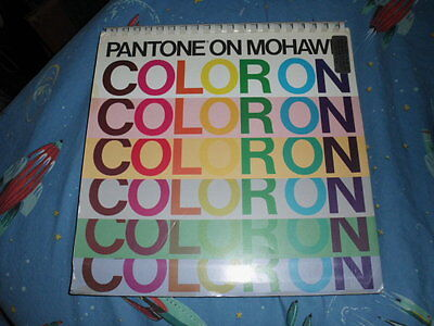 Very Rare Pantone On Mohawk Coloron-color Ink On Color Paper-1989-vguc
