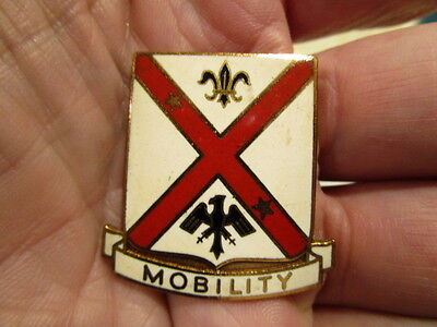 Wwii Occupation 10Th Transport Group Pinback Di   Dui   Theater Made Beauty