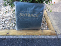 Outback patio heater cover