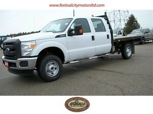2015 Ford F-350 XL Crew Cab 4x4 9' Flatbed | CERTIFIED