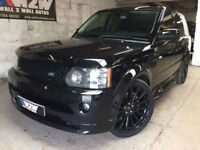Range Rover Sport 2.7TD V6 AUTO HSE 2010 FACELIFT CONVERSION,QUILTED LEATHER 95K