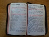 Saint John's Sunday Missal And Every Day Prayerbook, Imitation Leather – 1952 - Excellent Condition