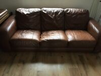 House Clearance - Leather sofa, Wardrobe, Chest of draws etc etc
