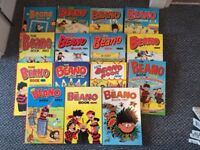 Selection of Beano Annuals