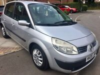 Renault Scenic Expression 1.6 5dr - Part Exchange to Clear hence price - MOT Jan18