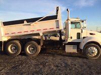 Regina Tandem Dump Truck Services and Hauling