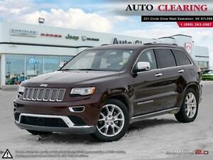 2015 Jeep Grand Cherokee Summit / Copper/Moroccan Sun Interior A