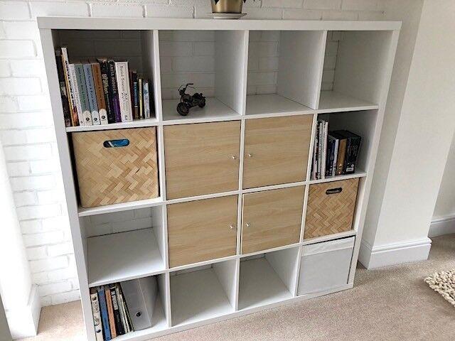 White Ikea storage unit – like new. Beautiful condition. So useful.