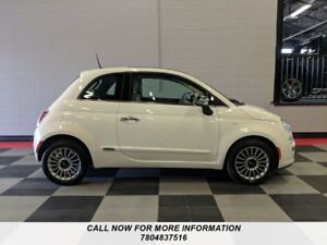 2012 FIAT 500 Lounge, Leather, Sunroof