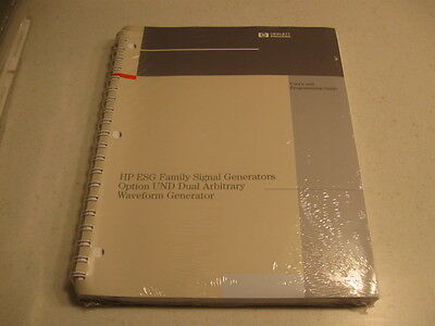 Manual Hp Esg Family Signal Generators Option Und Dual Arbitrary Waveform Gen.