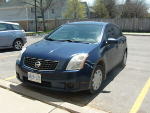 2007 Nissan Sentra Sedan, 2 LITER, 6 SPEED,