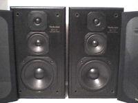 160W Technics Stereo Power Speakers - Heathrow
