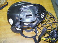 BAUER HH5000S HELMET CASQUE HOCKEY