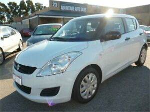 2011 Suzuki Swift FZ GL White 4 Speed Automatic Hatchback Wangara Wanneroo Area Preview