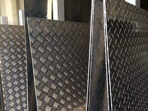 Steel Checker Plate - Aluminium Treadplate 5 bar and Propeller Beenleigh Logan Area Preview