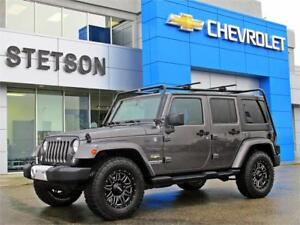 2014 Jeep Wrangler Unlimited Sahara V6 4x4 NEW Wheels and Tires
