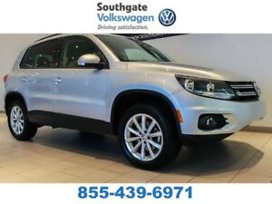 2017 Volkswagen Tiguan WOLFSBURG | LEATHER | BACK UP CAMERA | BL