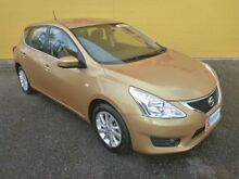 2014 Nissan Pulsar C12 ST Silver 1 Speed Constant Variable Hatchback Winnellie Darwin City Preview
