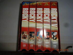 VHS Coffret. West Island Greater Montréal image 1