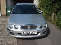 ROVER 25 SEMI-AUTO VERY LOW MILEAGE 2 LADY OWNERS.