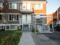 6 1/2 apartment for rent in St-Michel. 3 bedroom, 2 baths.
