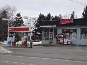 gas station with property
