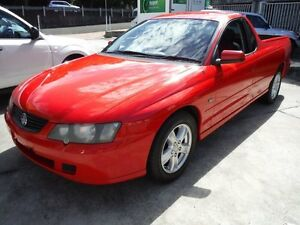 2004 Holden Commodore VY II S Red 5 Speed Manual Utility Girards Hill Lismore Area Preview