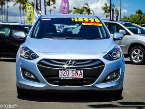 2012 Hyundai i30 GD Elite Clean Blue 6 Speed Sports Automatic Hatchback Garbutt Townsville City Preview