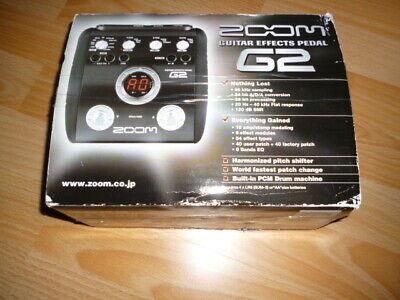ZOOM G2 Guitar Multi Effect Pedal Gitarren Effekt Prozessor G 2 comprar usado  Enviando para Brazil
