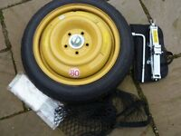Honda Civic Space Saver Spare Wheel Kit