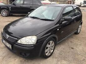 2006 Vauxhall Corsa, starts and drives, no MOT, hence price, car located in Gravesend Kent, any ques