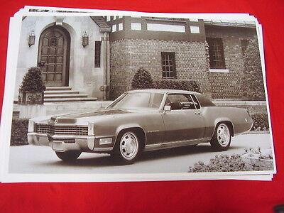 1968  CADILLAC ELDORADO  11 X 17  PHOTO /  PICTURE