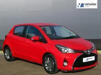2014 Toyota Yaris VVT-I ICON Petrol red Manual