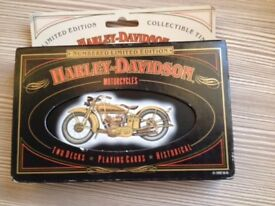 Harley Davidson Special Edition Playing Cards