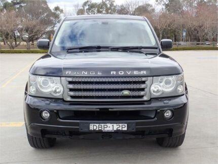 2008 Land Rover Range Rover Sport L320 08MY TDV6 Black Sports Automatic Wagon Elderslie Camden Area Preview