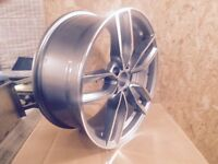 """Audi A3, A4, A5, Alloy Wheels 18"""" - Brand New Boxed Set Of 4"""