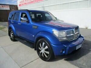 2007 Dodge Nitro Blue Sports Automatic Wagon West Perth Perth City Area Preview