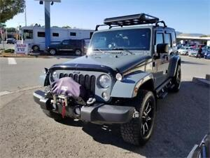 2015 JEEP WRANGLER UNLIMITED SAHARA  4X4 BLACK FRIDAY SALE