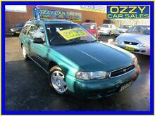 1998 Subaru Liberty GX (AWD) Green 5 Speed Manual Wagon Minto Campbelltown Area Preview