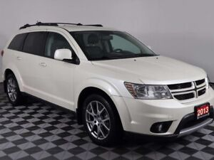 2013 Dodge Journey R/T w/MOONROOF, NAVIGATION, HEATED LEATHER AN