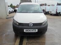 Volkswagen Caddy 1.6 Tdi 102Ps + Startline Van DIESEL MANUAL WHITE (2014)