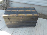 Old Trunk with tray