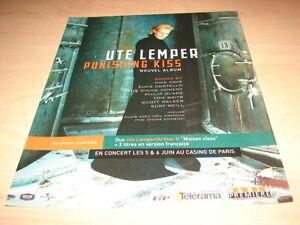UTE-LEMPER-PUNISHING-KISS-PUBLICITE-ADVERT